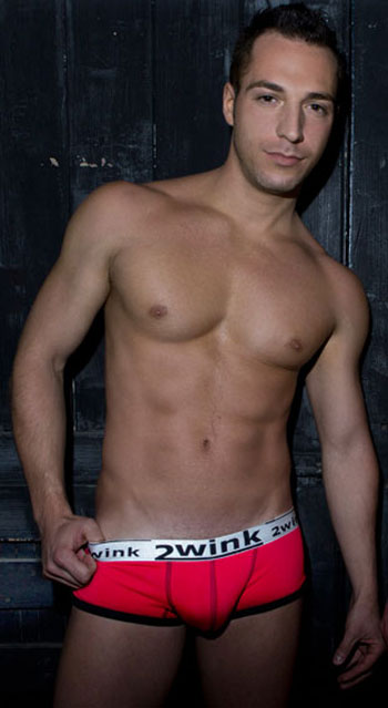 2WINK AUSTRALIA SEXYBOY TRUNKS DESERT RED