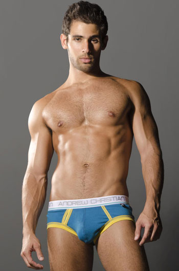 Andrew Christian Tighty Whitie Punked Brief 9382