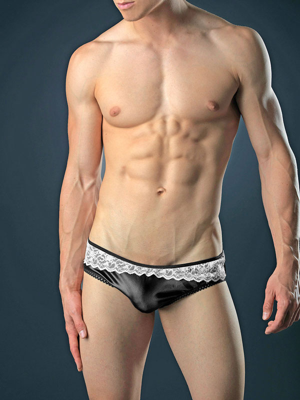 Bodyaware Satin Portland brief Black