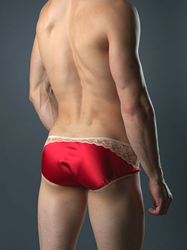 Bodyaware Satin Portland brief Red