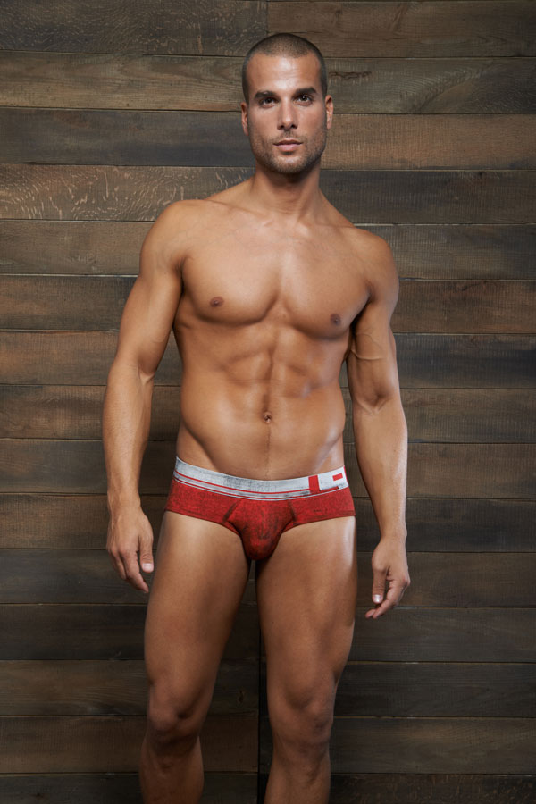 C-IN2 Filthy Low no-show brief Red