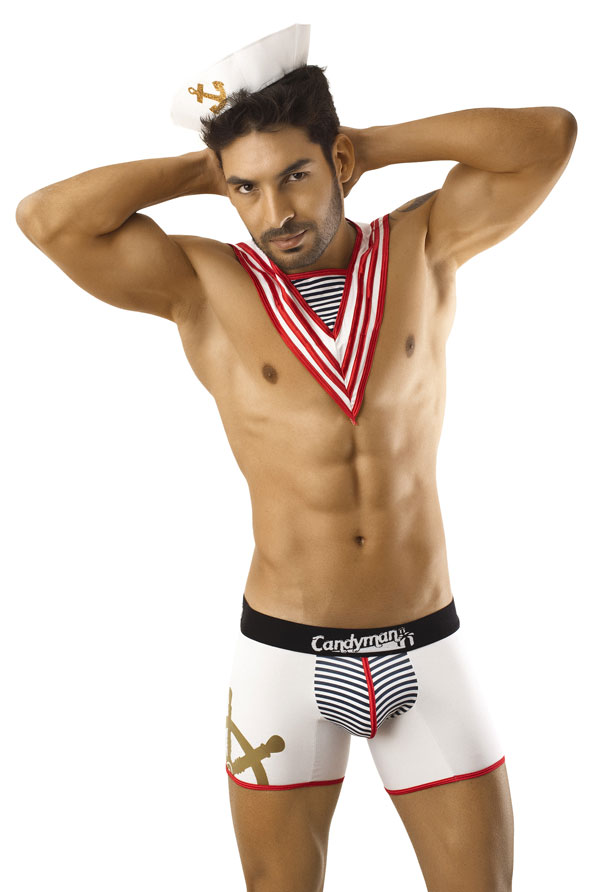 Halloween Costume Ideas: Candyman Sailor Boxer Brief 9557