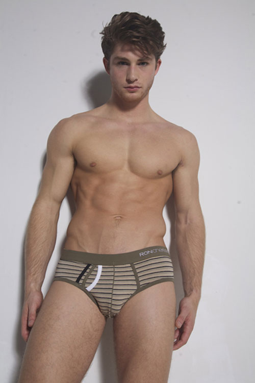 Chereskin-Underwear-Retro-Stripes-Olive-Sports-Brief