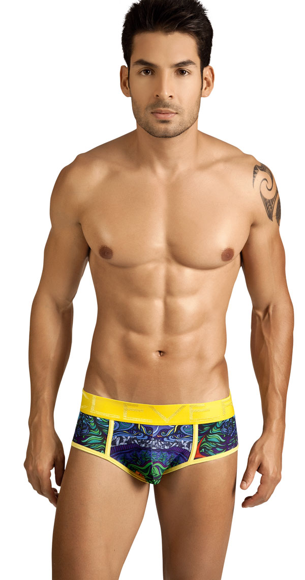 Clever Moda Colorful Forest Brief 5148