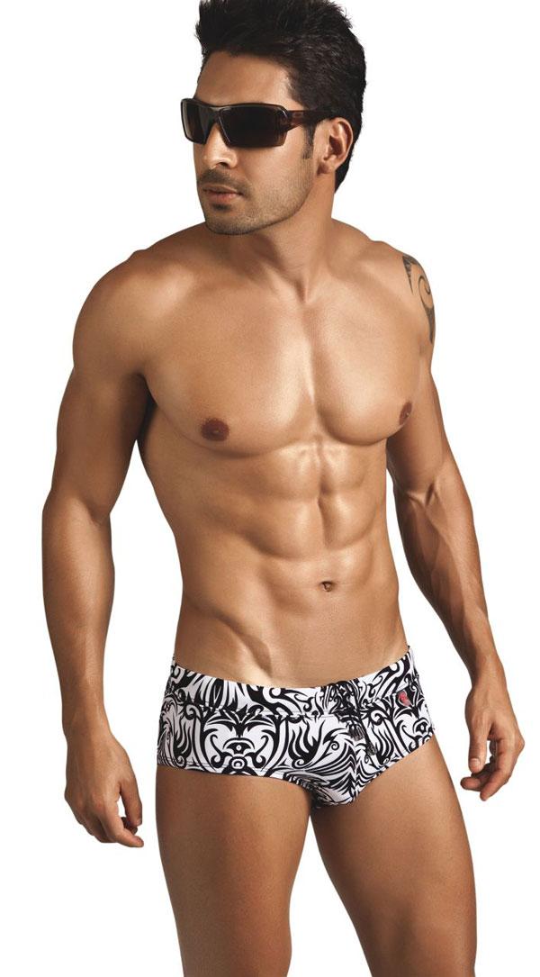 Clever Moda Tribal Swimsuit brief 05531