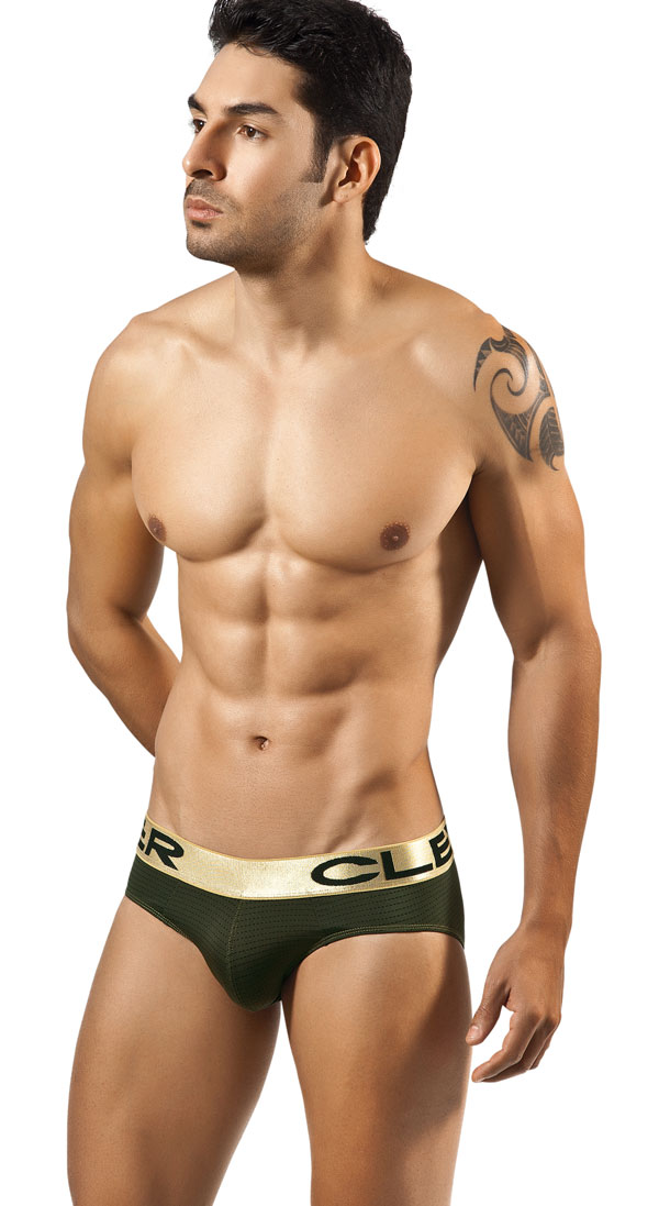 Clever Moda Zafiro Latino Brief Green