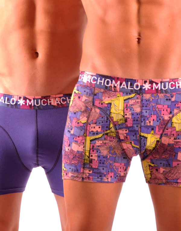 Muchachomalo Spring Collection Boxer Brief 2 pack