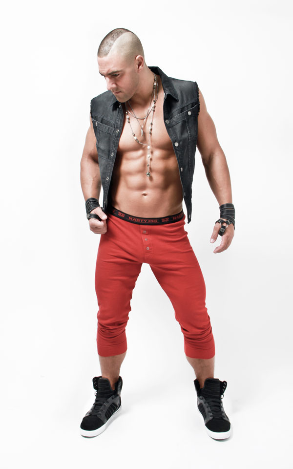 Halloween Costume Ideas: Nasty Pig Long Johns Red