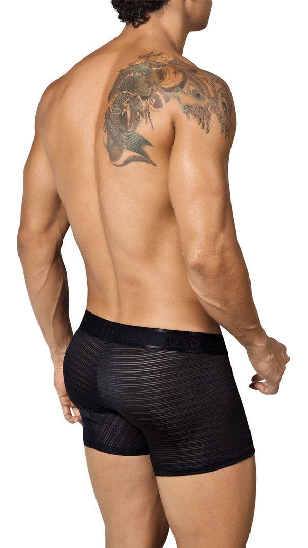 Pikante Purpurata Boxer Brief Black 8369