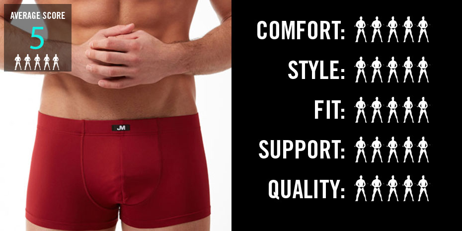JM Skinz Pouch Boxer Red