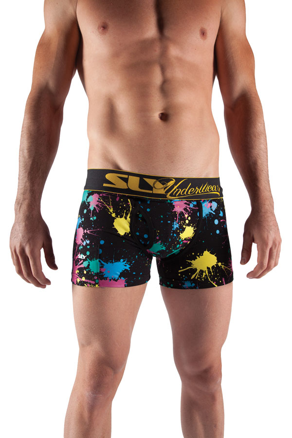 Sly Paint Splatter Boxer Brief