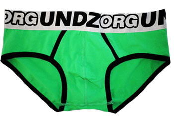 Undz Brief Green