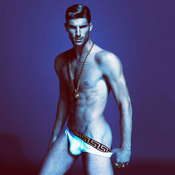 Versace Spring 2013 collection Brief white