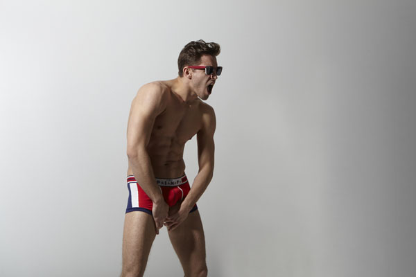 Vintage Pimp Boxer Trunk Collection Red, White