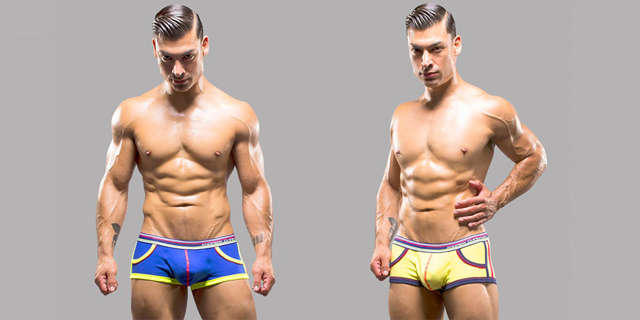 Andrew Christian Happy And Retropop Sonic 33