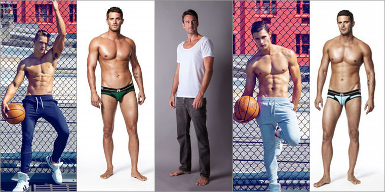 week in men's underwear - September 25 2013 edition.