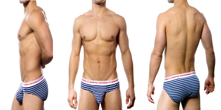 Andrew Christian Almost Naked Marine Brief