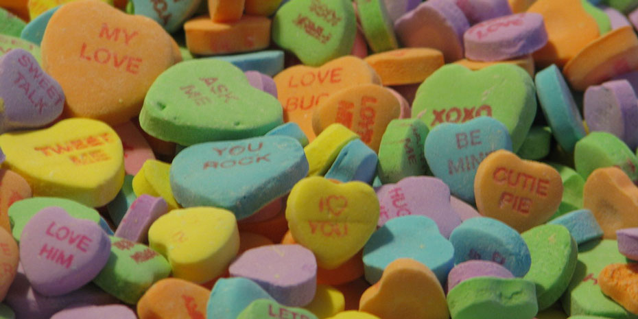 Candy Hearts For Your Sweetie