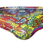 aussieBum Splash Brief Hibiscus