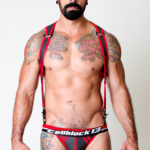 CellBlock 13 Venom Collection Venom Jockstrap - Black/Red
