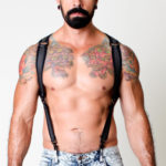 CellBlock 13 Venom Collection Venom Neoprene Harness - Black