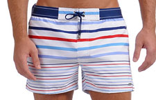 IMAGE 2xist Graduated Stripe Shorts
