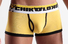 Chikoloko boxer trunk Yellow