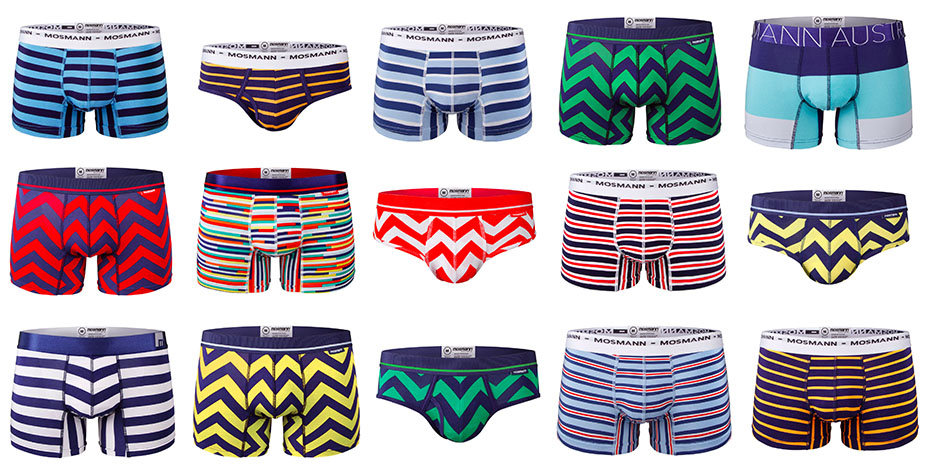 Mosmann Striped Underwear