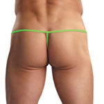 Euro Male Spandex and Mesh - Euro Male Spandex Pouch G-String