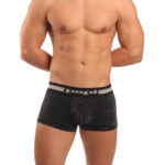 Papi Underwear Mineral Wash Collection Black Trunk