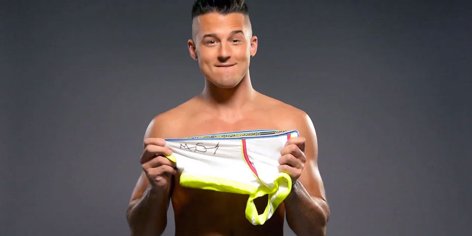 Murray Swanby Signed Underwear