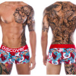 Discover 2015 Wild Collection Osaka Trunk - Red