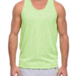 2(X)IST S/S 2015 apparel Two-Tone Mesh Racerback Tank